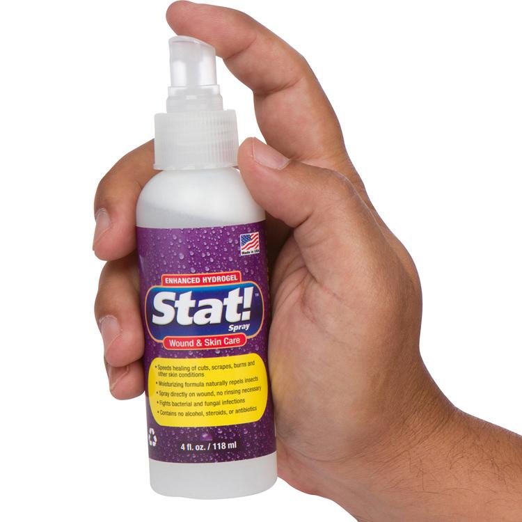 Stat! Spray Homepage